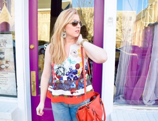 Fun Flirty Spring tops fashion anthropologie