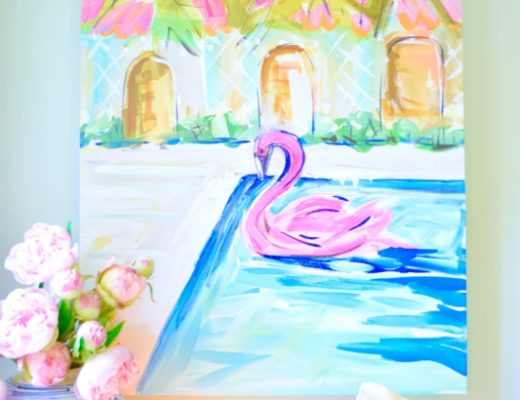 Graham & Co. Art Crush Artist Paint Maren Devine Preppy Bright