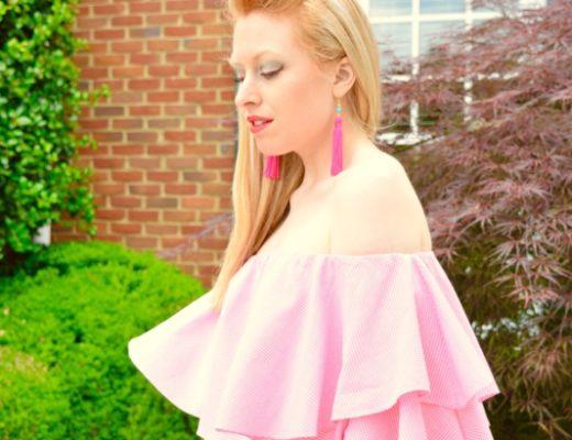 Summer Sundress dress glamourus Accessories purse clutch pink red0