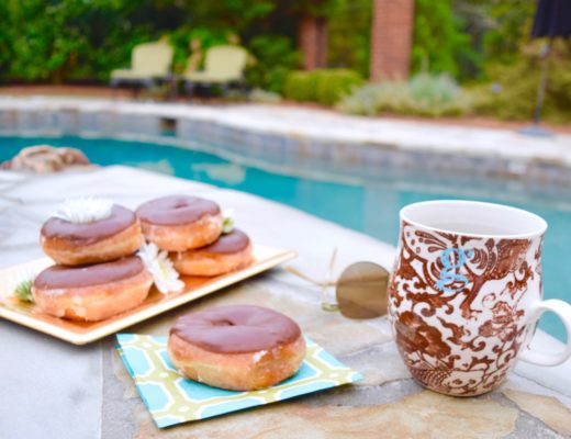 Donuts & Daisies Poolside breakfast Graham & Co.