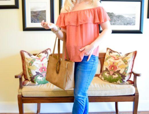 off the shoulder-shirt-dress-preppy-fashion-blog