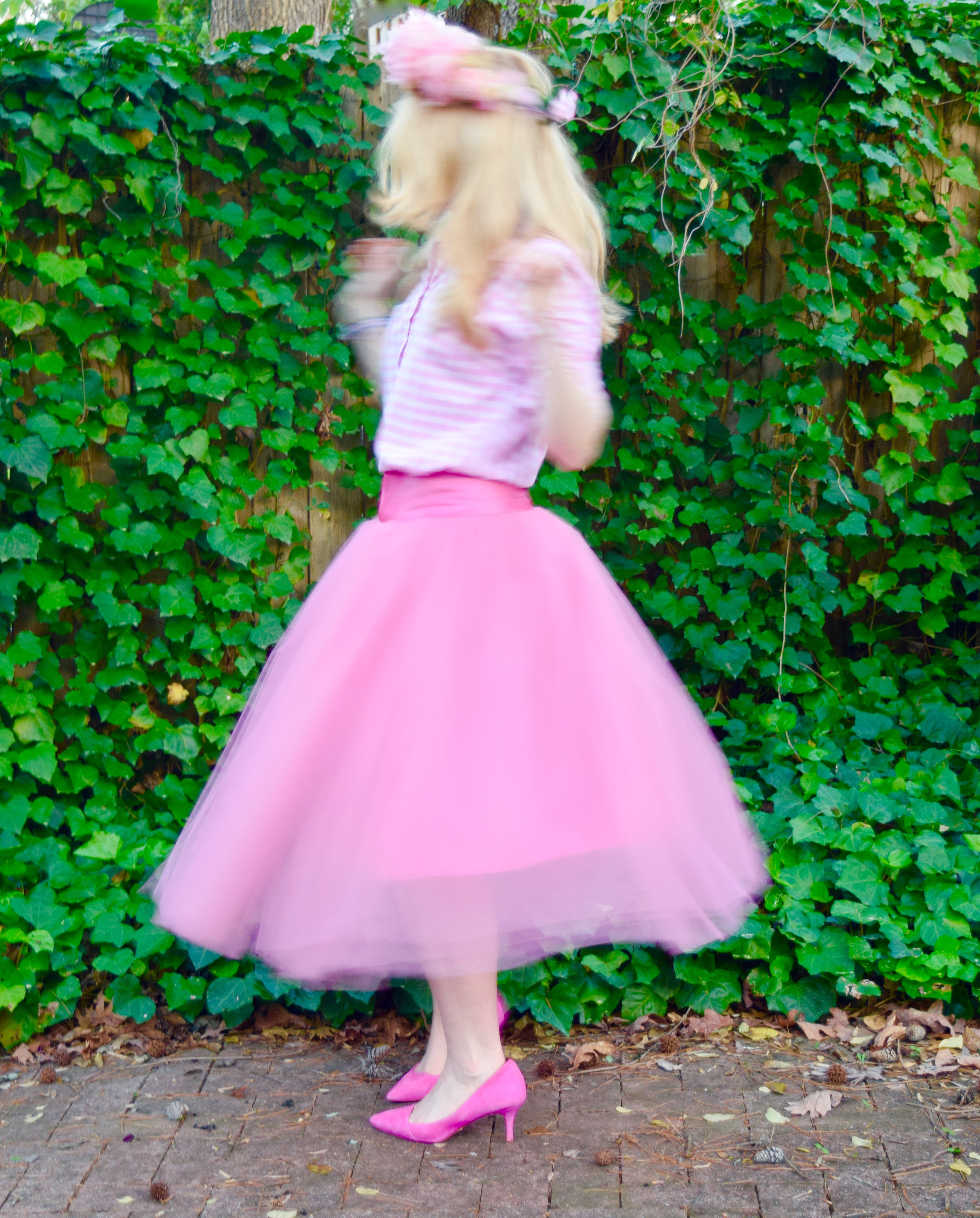 Graham and co pink tutu flower crown